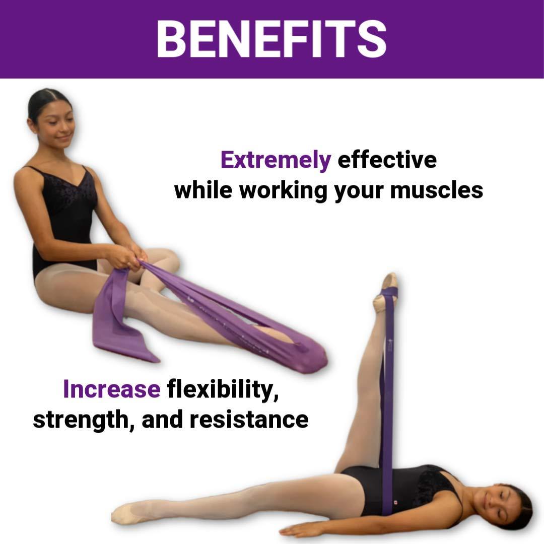 Dancers Gymnastics .Resistance Bands to Improve Flexibility ...