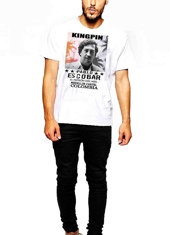 Pablo Escobar T-Shirt Medellin Cartel Plato O Plomo Tee II