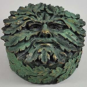 Greenman chêne Boîte décorative H5 .5 cm