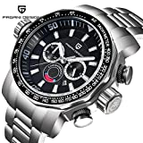 Luxury brand PAGANI DESIGN sports watch large dial quartz multifunction military diving hand