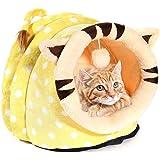 leegoal Casa para Gatos Interior, Lujo Cama para Gatos/Perros Pequeños/Animal Doméstico, Lavable y…