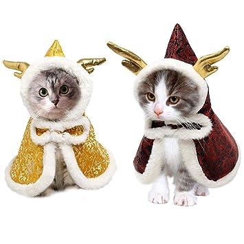 Kuoser Disfraz de Capa de Invierno para Mascotas Estilo Chino con ...