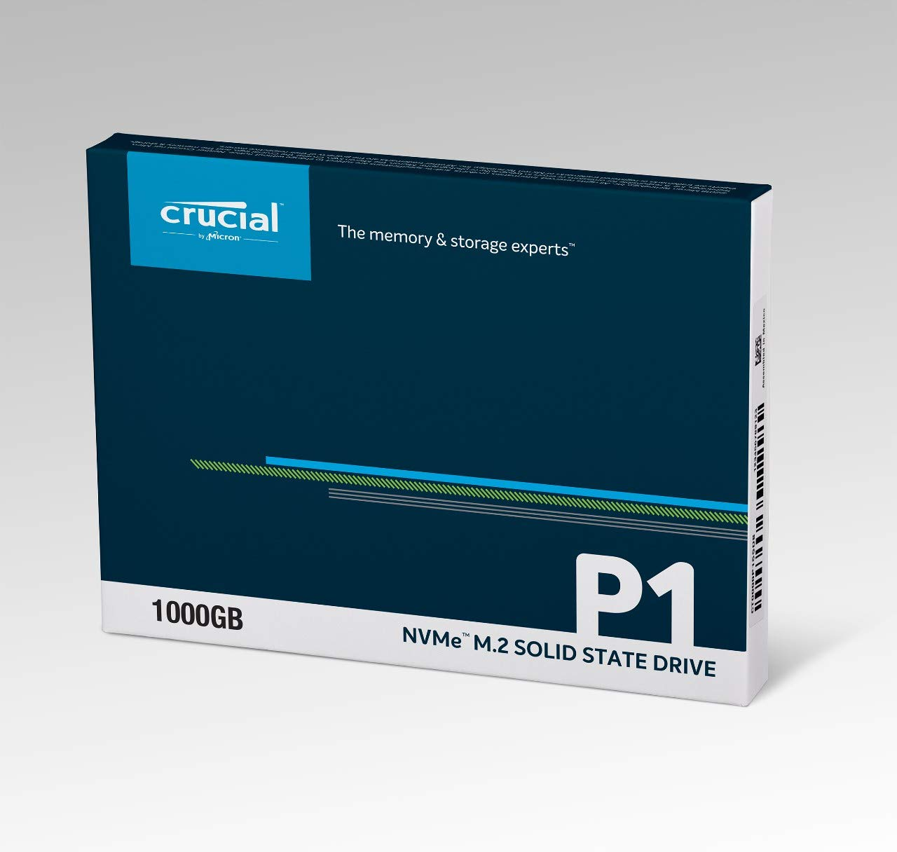 Crucial P1 1TB 3D NAND NVMe PCIe M.2 SSD - CT1000P1SSD8 by Crucial (Image #2)