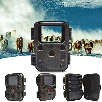 DAZZILYN H9 Outdoor HD Waterproof Infrared Hunting Camera Set