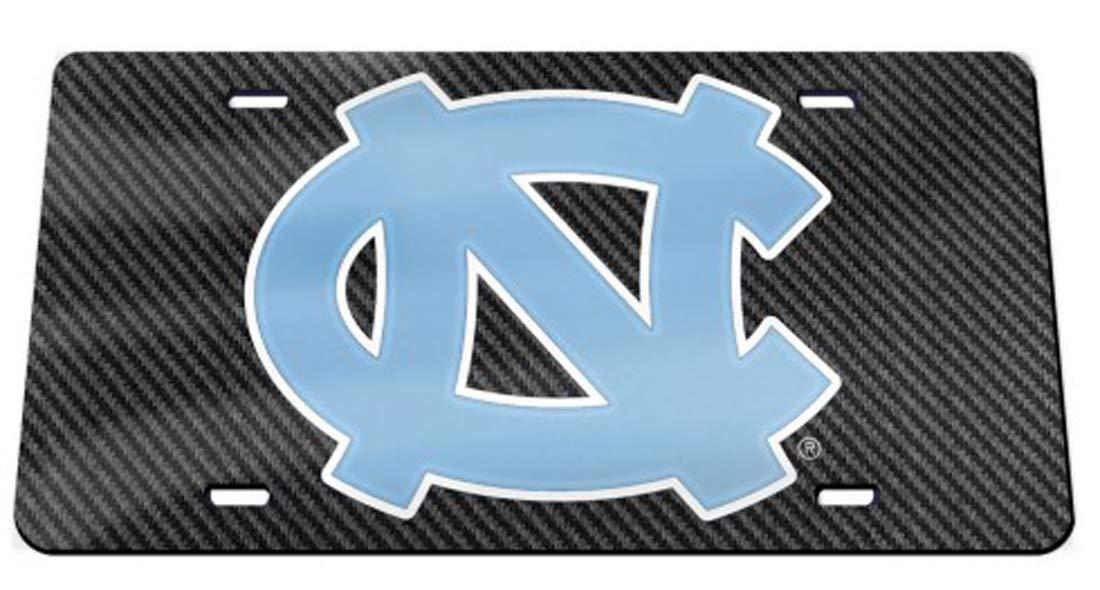 Wincraft North Carolina Tar Heels Official NCAA License Plate Acrylic