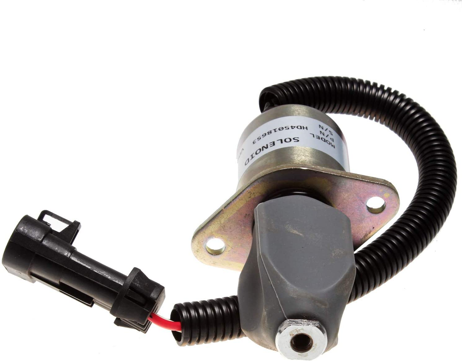 Mover Parts 12V Fuel ShutOff Solenoid 6681513 for Bobcat Skid Steer 751 753 763 773 7753 325 328 331 334 337 341 5600 S150 S160 S175 S185 T190