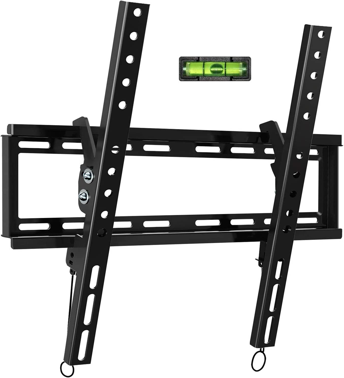 Tilt TV Wall Mount Bracket for Most 32-55 Inch Flat Screen, Curved TVs - BLUE STONE Universal TV Mount with VESA up 400x400mm,Loading Capacity 66 lbs, Fits 8