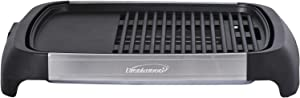 Brentwood Select TS-641 1200 Watt Electric Indoor Grill & Griddle, Stainless Steel