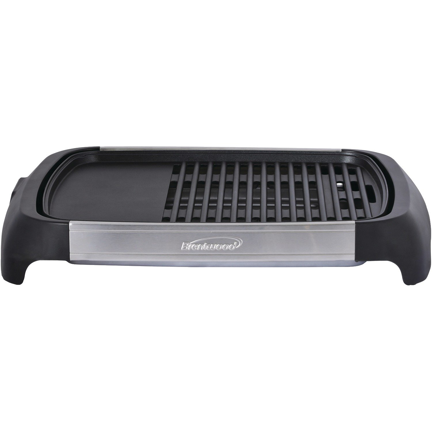 Brentwood Select TS-641 1200 Watt Electric Indoor Grill & Griddle, Stainless Steel BRENTWOOD APPLIANCES