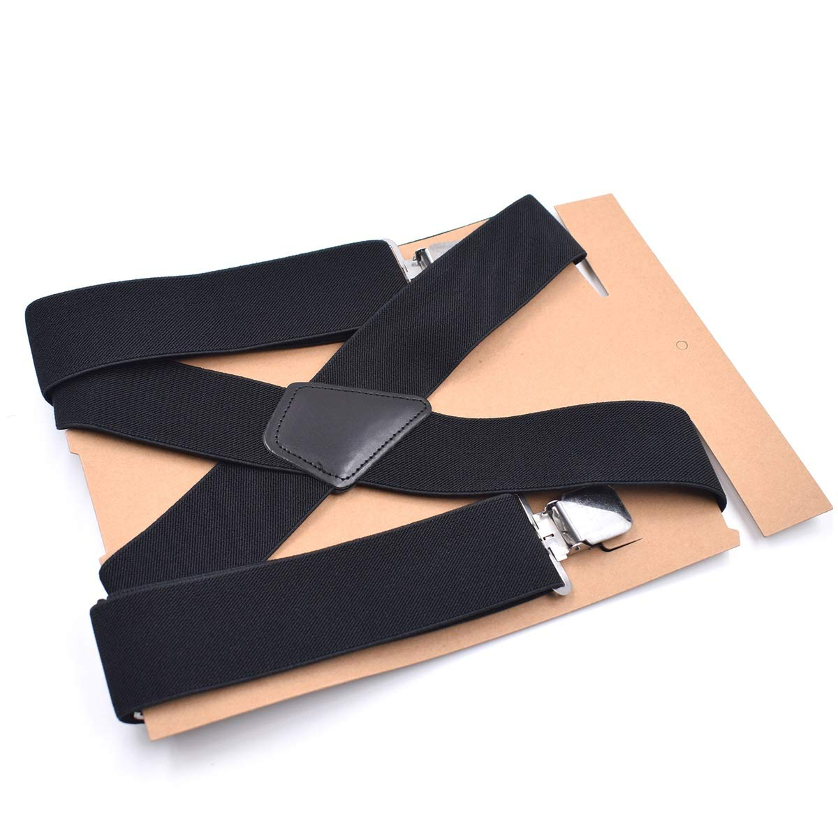 Mens Suspenders Clip On Trousers Braces For Wedding Prom Work