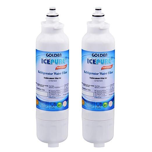 Golden Icepure rwf3500 a nevera filtro de agua de repuesto para LG ...