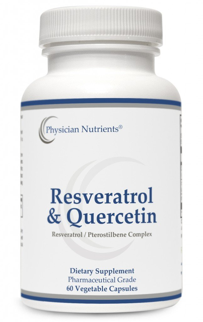 Resveratrol & Quercetin by Physician Nutrients