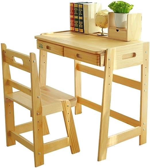 Muebles Puede Levantar mesas y sillas for niños Estudio Madera ...