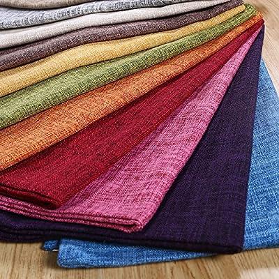 Pillowcase Covers, U'artlines Pillow Case Decorative Cushion Cover Pillowcase for Sofa Cotton Linen Pillow Cover
