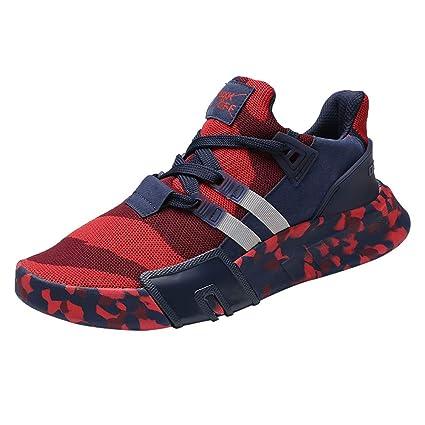 458e8a1b2839d Amazon.com: Street Shoes Men KKGG Sport Breathable Light Flat ...