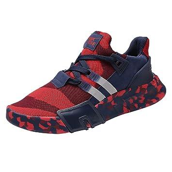 LuckyGirls Zapatillas de Correr Calzado de Deporte Camuflaje Deportivos Bambas de Running Zapatillas de Jogging Zapatos de los Hombres: Amazon.es: Deportes ...