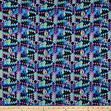 Newcastle Fabrics Polar Fleece Fractures Lagoon Fabric By The Yard