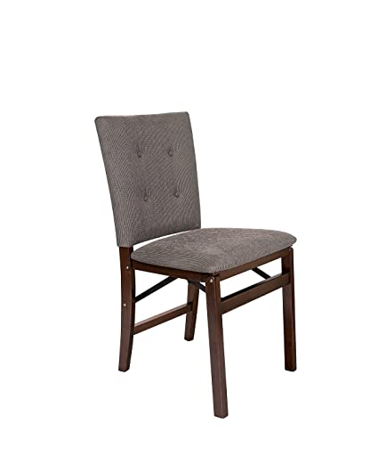 Stakmore Parsonu0027s Folding Chair Finish, Set Of 2, Espresso