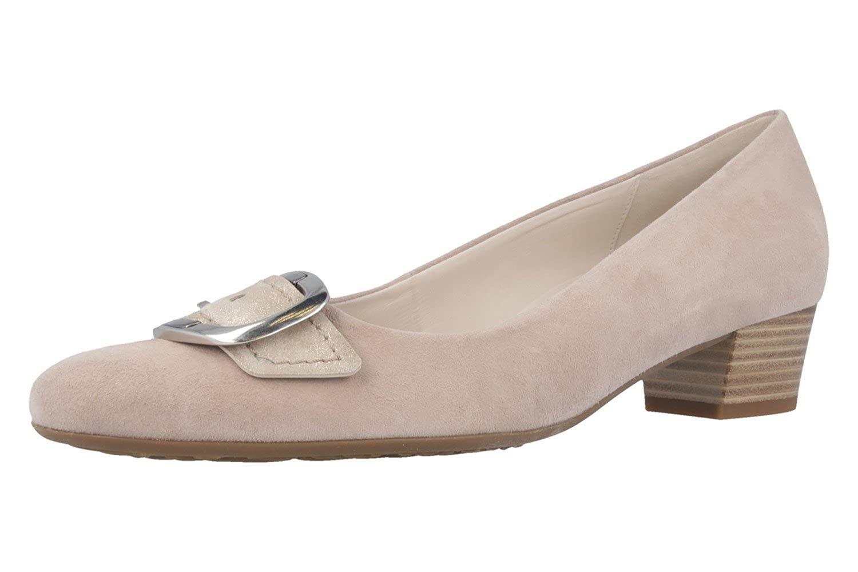 d025e2c04e5e2 Gabor Gris - Zapatos de vestir de Piel para mujer Gris Gabor gris 812d3a