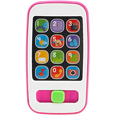 Fisher-Price Laugh & Learn Smart Phone, Pink: Toys & Games