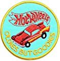 HOT WHEELS OLDIES BUT GOODIES Logo Sign Racing Patch Iron on Applique Embroidered T shirt Jacket Gift BY SURAPAN