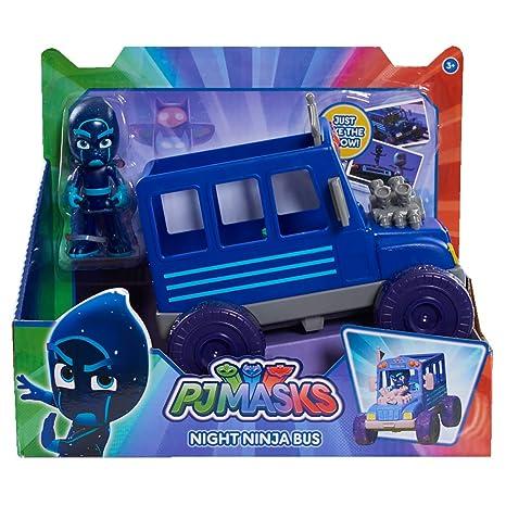 PJ Masks NDA Toys Turbo Blast Vehicle - Noche Ninja Bus ...
