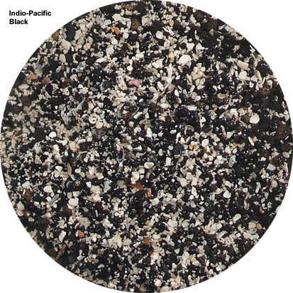 Arag-Alive Indo-Pacific Sand in Black (40 lbs) [Set of 2] by Carib Sea