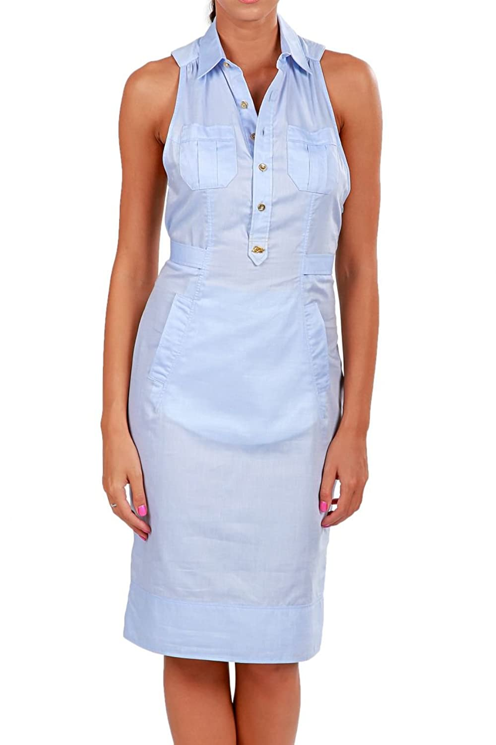 Dsquared2 Shirt Dress , Color: Light Blue