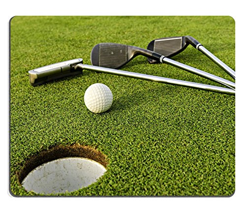 Price comparison product image Qzone Mousepads Driver and golf ball on the green IMAGE 39986640 Customized Art Desktop Laptop Gaming mouse Pad