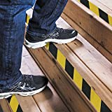 "Kyson No Slip Safety Tape High Traction Abrasive Grit Grip Warning Stickers for Stairs Indoor Outdoor 4"" X 16.4'"