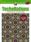 Creative Haven 3-D Techellations Coloring Book (Adult Coloring)