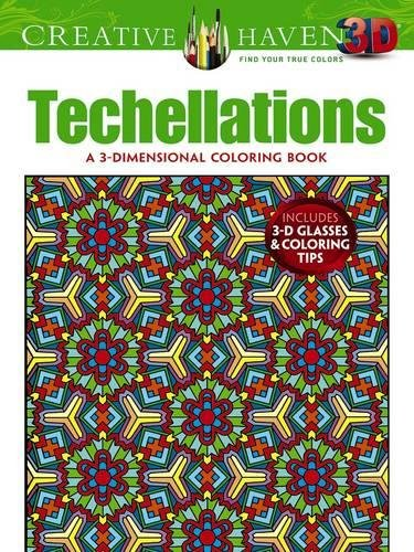 Creative Haven 3-D Techellations Coloring Book (Adult - Ohio Columbus Shades