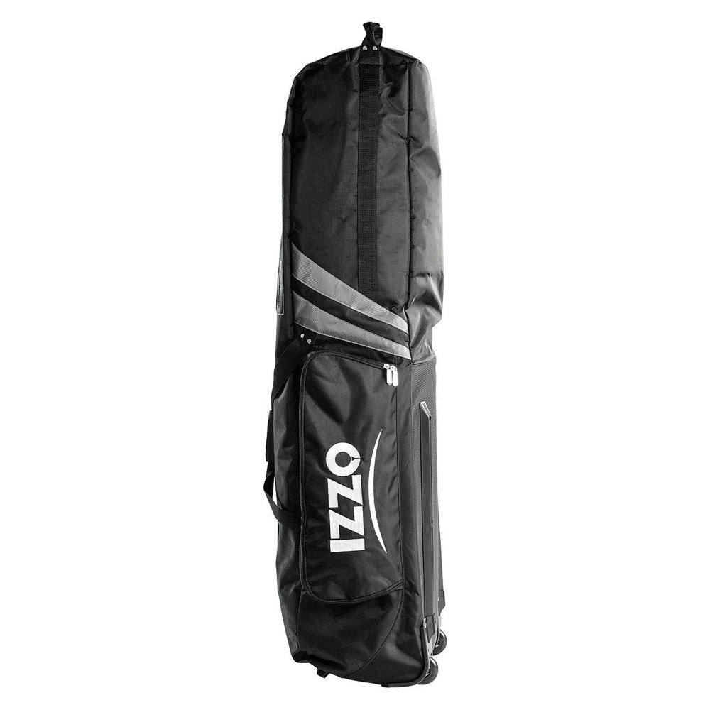 IZZO SOFTCORE GOLF BAG TRAVEL COVER BLACK