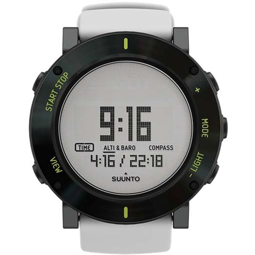 Like Suunto Watches Amazon Core Ultimate Black Wrist Top Computer Watch With Altimeter Barometer Compass And Depth Measurement White Crush