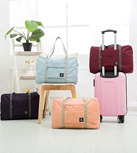 Potted Succulents Travel Duffel Bag Waterproof Fashion Lightweight Large Capacity Portable Luggage Bag