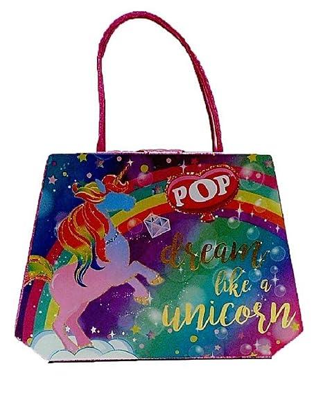 fa9e37ee91f3 Amazon.com: POP Girls Enchanted Dream Like a Unicorn Beauty Vanity ...
