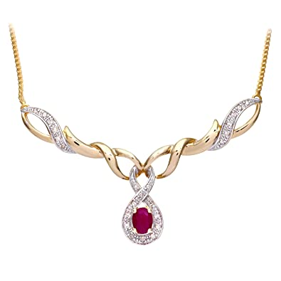 necklace ruby gold antique pin and latest model designs