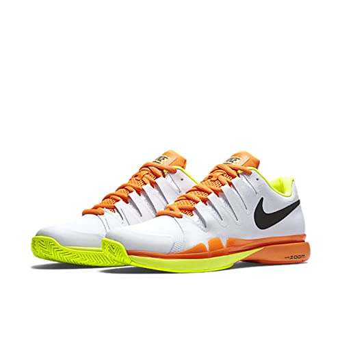 Nike Zoom Vapor 9.5 Tour - Tennis Trainers, Color White  (White/Black-Volt-Total Gold), Size 41: Amazon.co.uk: Shoes & Bags