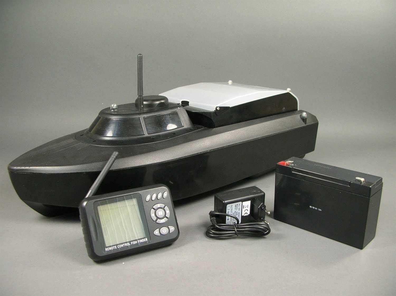 Amewi 26020 - Barco cebador V3 con Sonar, RTR, 2,4 GHz, Talla L, 61 cm