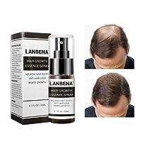 Allbesta Haarwuchsmittel Spray Unterstützt und fördert das Wachstum der Haare Behandlung Anti-Haarausfall für Männer & Frauen