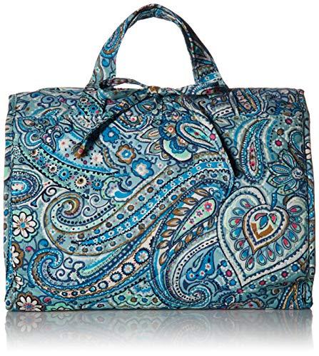 Dot Jewelry - Vera Bradley womens Iconic Hanging Travel Organizer, Signature Cotton, Daisy Dot Paisley, One Size