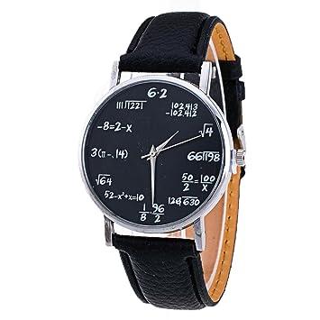 Xinantime Relojes Pulsera Mujer,Xinan Cuero PU Venda Relojes Analógicos del Cuarzo (Negro): Amazon.es: Deportes y aire libre