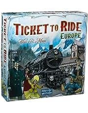Ticket to Ride - Europe - Uitdagend Bordspel - Reis door Europa - Nederlandstalig - Voor de hele Familie - Taal: Nederlands