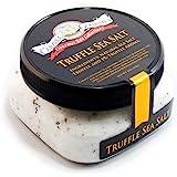 Italian Black Truffle Sea Salt - All-Natural Infused Sea Salt with Black Truffles & Truffle Oil from Italy - No Gluten, No MS