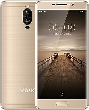 Smartphone Baratos 4G Android 7.0, VIVK R2 Dual SIM 5.5 Pulgadas ...