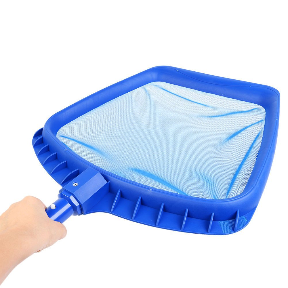 2PCS/set Heavy Duty Swimming Pool Leaf Skimmer Net with Handle Rake Leaf Mesh Skimmer Cleaner Swimming Pool Spa Tool - 16.5 by 15.7 Inch Gessppo by Gessppo_Sports & Fitness (Image #4)
