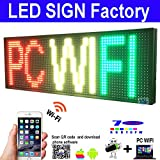 NEW SMD LED SIGN 39'' X 14'' BRIGHT LED SCROLLING MESSAGE DISPLAY / PROGRAMMABLE BUSINESS ADVERTISING TOOLS