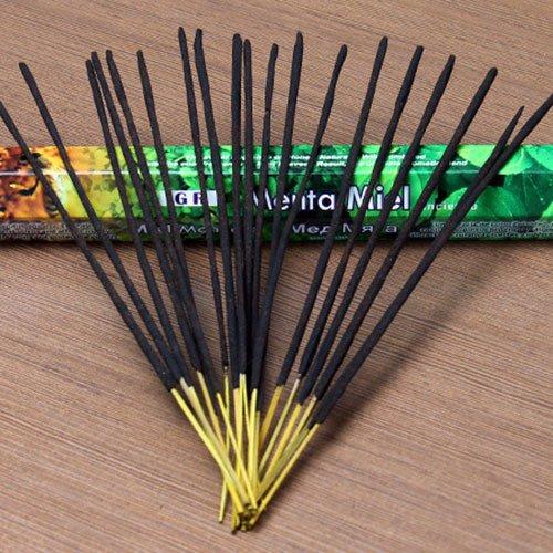 GR Incense Sticks Best Sellers 6 Boxes X 20 sticks, variety pack (#3)