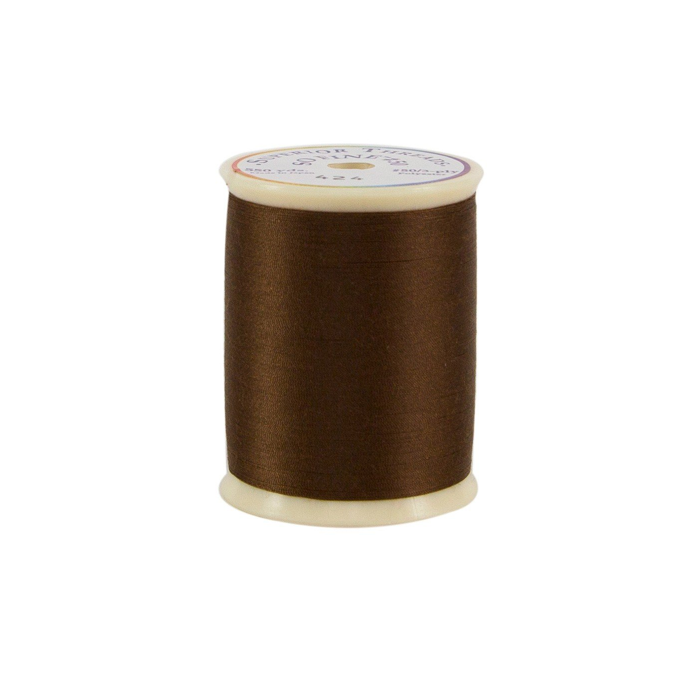 Superior Threads and Quilting Smooth Polyester Sewing Thread for Serger Bobbin Thread 550 Yds. So Fine #471 Glacier
