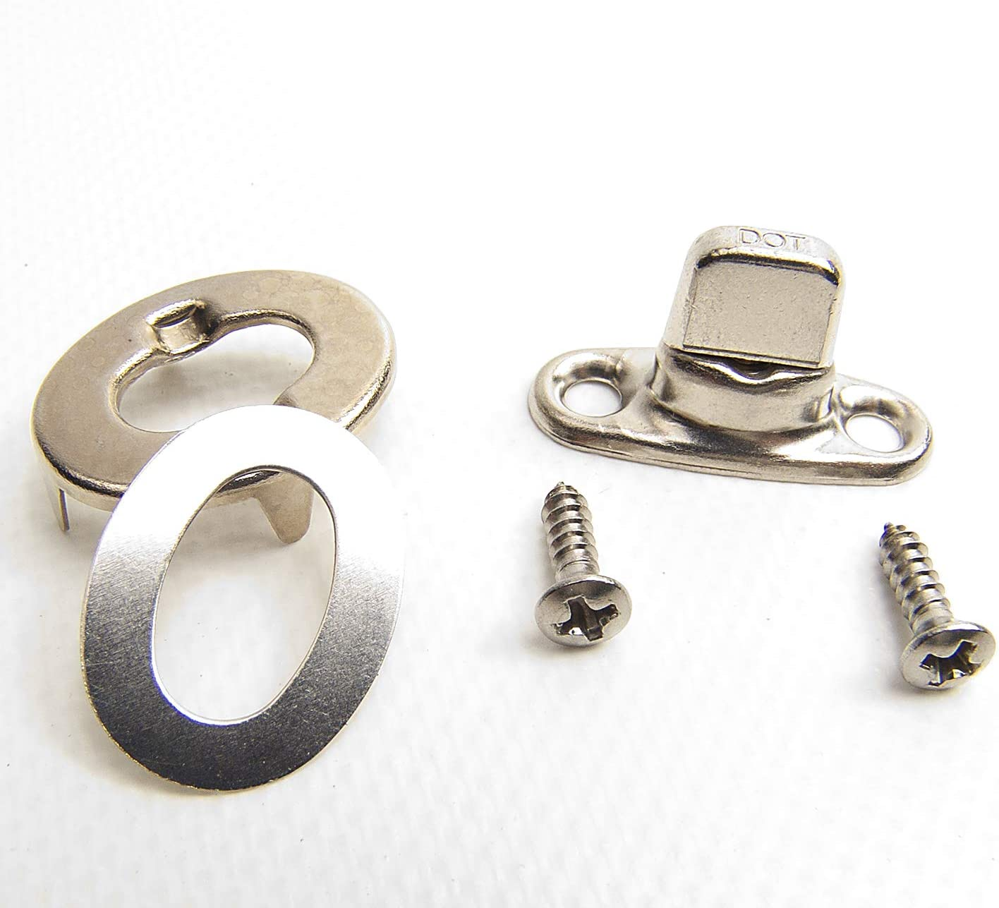 Common Sense Fastener Screw Stud w// Eyelet /& Clinch Plate 5 Pc.